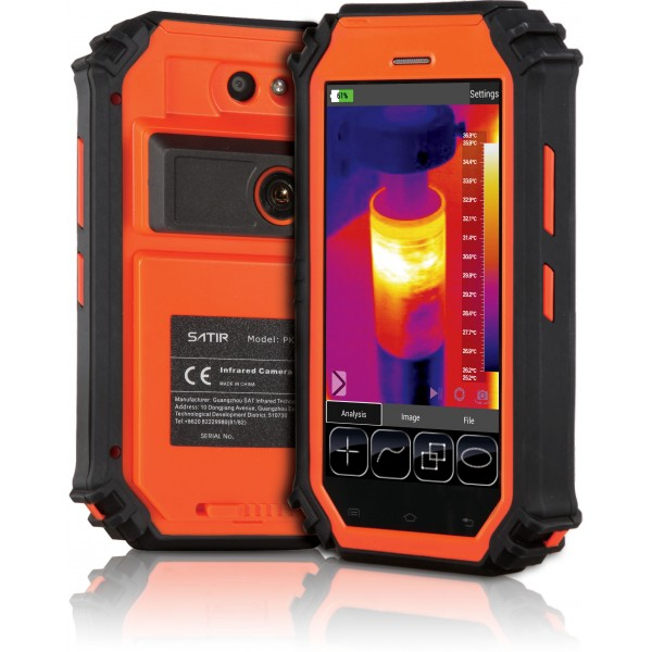 PK80 SATIR, thermal camera technology, Wi-Fi connection